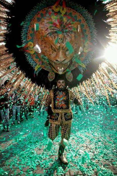 Carnaval de #Tlaxcala, #México. Maravillas de México! - rePinned by LocoGringo.com