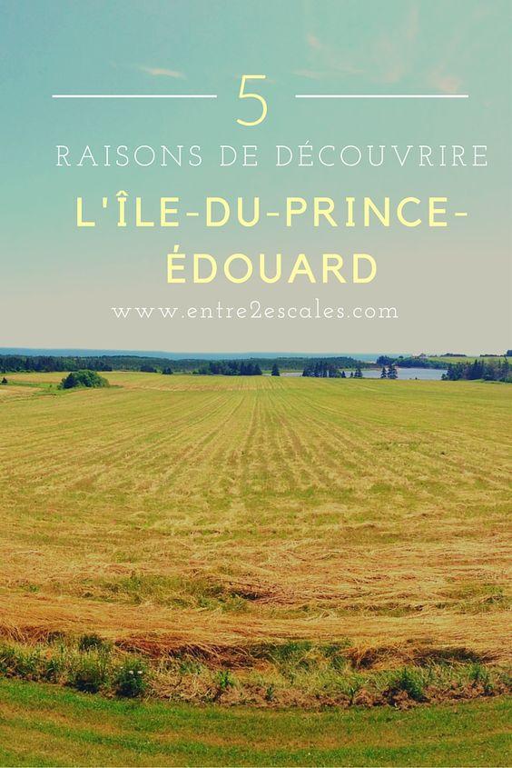 5 raisons de visiter l'Île-du-Prince-Édouard, Canada.  5 reasons to visit Prince Edward Island, Canada!