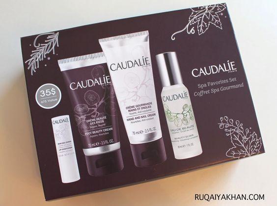 @CAUDALIE Spa Favorites Set Review #BeautyReviews #ValentinesDay #Caudalie #BeauyElixir