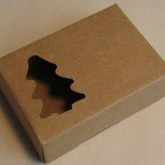 Soap Box - Kraft Pine Tree