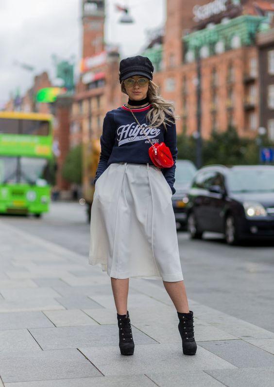 Street Style bei der Kopenhagen Fashion Week