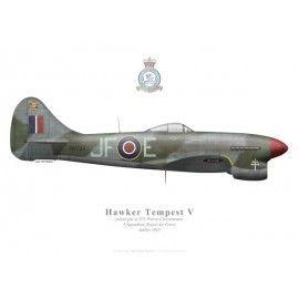 Tempest V, Pierre Clostermann, No 3 Squadron, Royal Air Force, Juillet 1945
