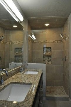 Narrow bathroom design ideas pictures remodel and decor for 4 piece bathroom ideas