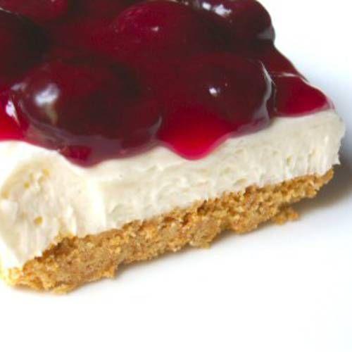 No bake cherry cheesecake, Best no bake cheesecake and Chocolate chips ...