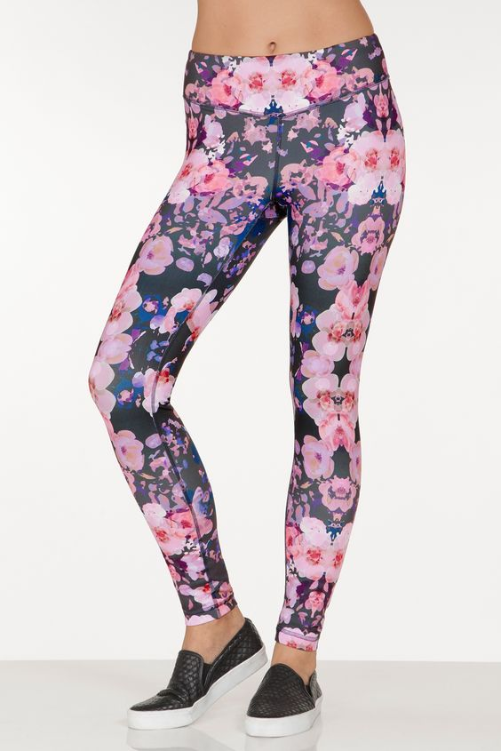 Boston Proper Floral blot legging #bostonproper