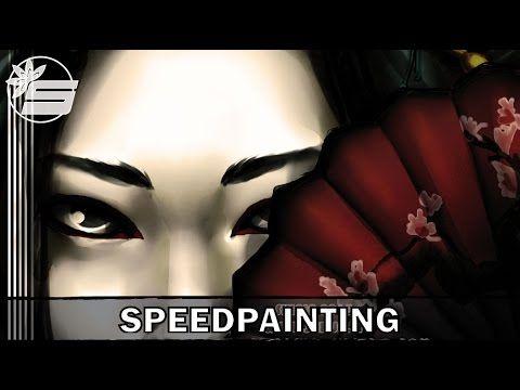 Speedpainting --Shadowed Beauty
