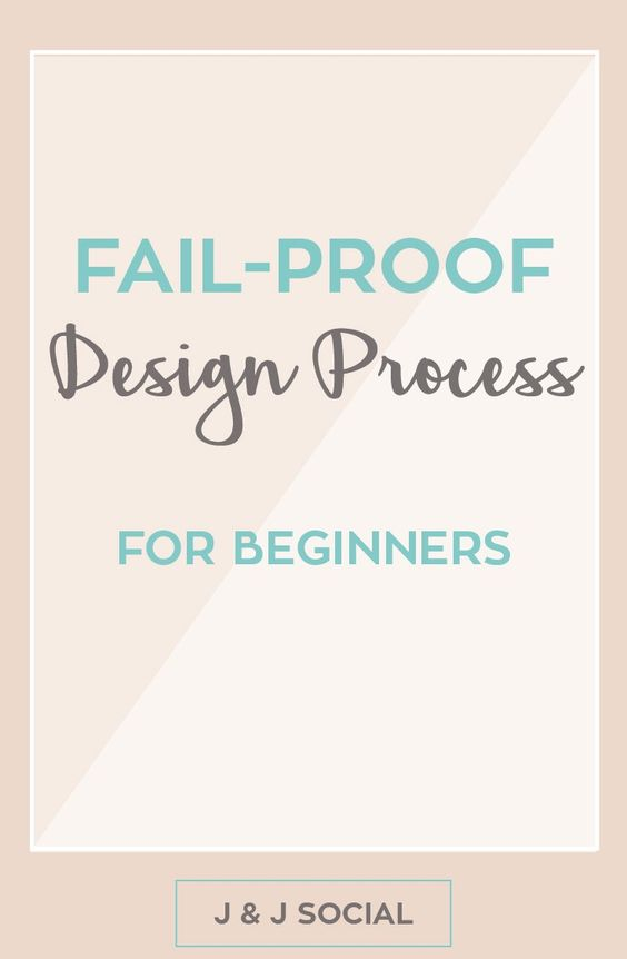 Creating your brand's design or style guide is a huge task to take on. You need to create a logo, create templates for Instagram, Twitter, and Pinterest, and design your website. But, how do you do it without messing up? You follow my fail-proof design process for beginners. Yay!