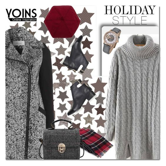 """YOINS OVERSIZED DRESS"" by ozlem-ozcanb ❤ liked on Polyvore featuring Topshop, Stührling, holidaystyle, yoins and oversizeddress"