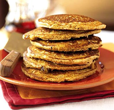 almond flour pancakes.  lots of good healthy recipes.