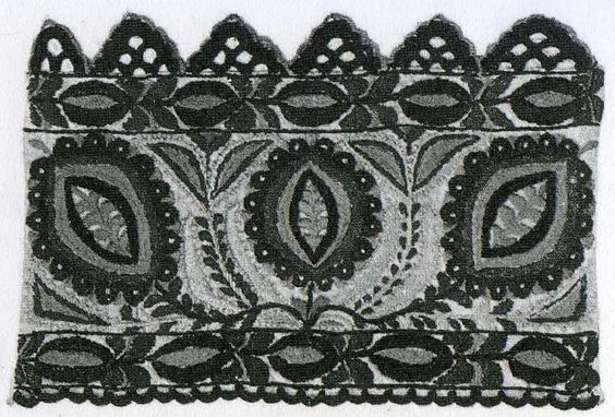 The Textile Blog: Bohemian Embroidery