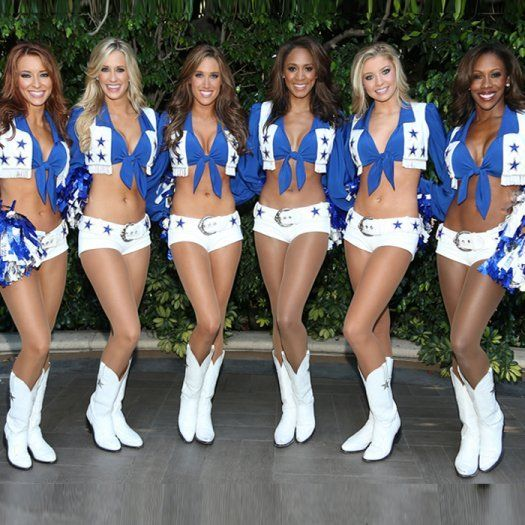 The Dallas Cowboys Cheerleaders Dallas Cheerleaders Nfl Cheerleaders Cheerleading Workouts