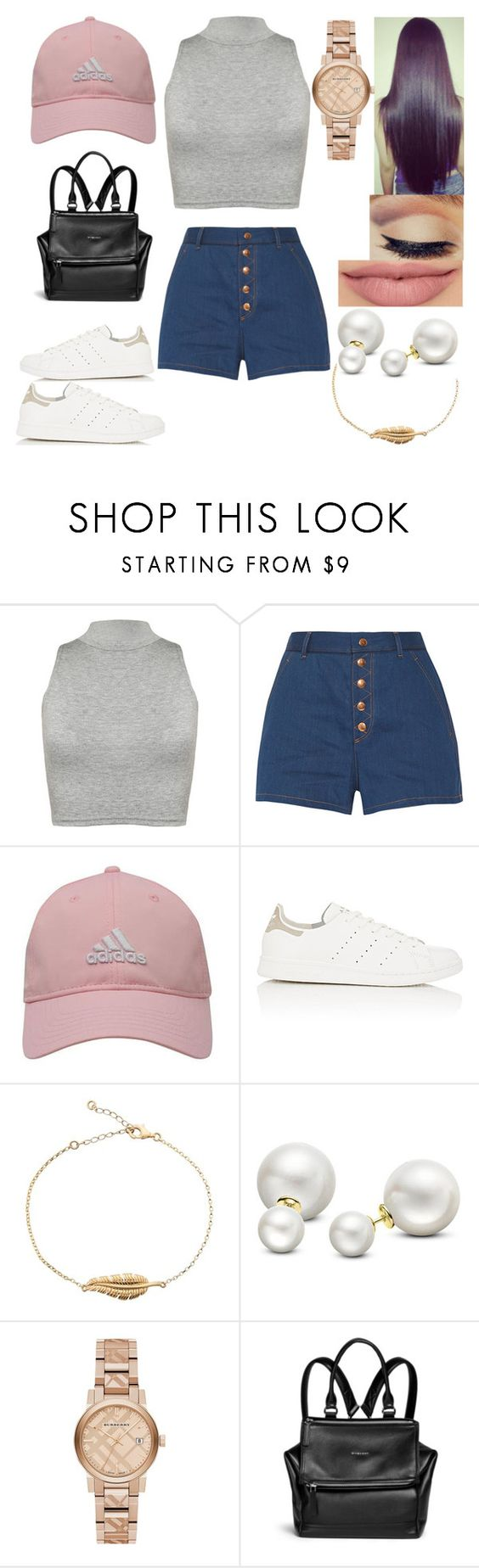 """Tenue n°75"" by styles-of-outfits ❤ liked on Polyvore featuring WearAll, rag & bone, adidas Golf, adidas, Allurez, Burberry and Givenchy"