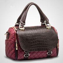 2015 novas mulheres da moda genuína bolsas de couro \ sacos, Bolsa de ombro Retro \ Messenger Bag ~ qualidade garantida ~ 13B200(China (Mainland))