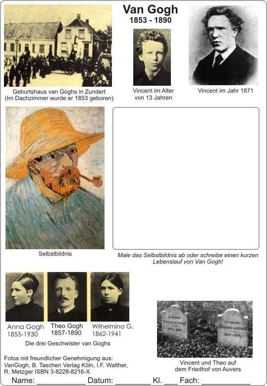Van Gogh Lebenslauf 13