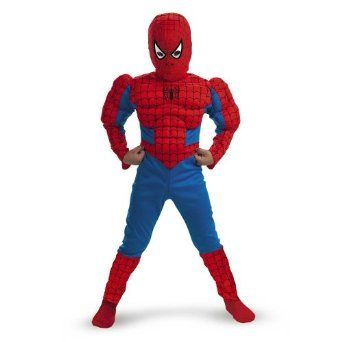 Spiderman Muscle Costume