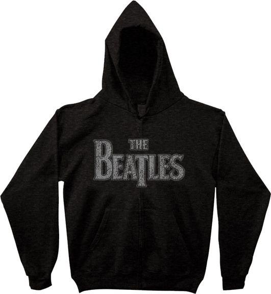 The Beatles Vintage Logo Zip Up Sweatshirt Hoodie Sweatshirts Hoodie Sweatshirts Beatles Vintage