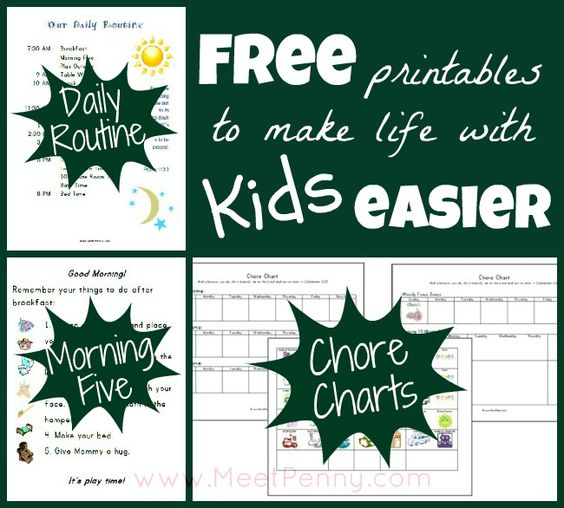 our homeschool schedule  with free printables to make life easier