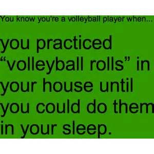 you know your a volleyball player when - Bing Images