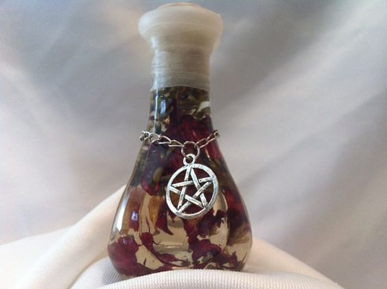 EXTREME POWER oil. For all lunar phases, spell and magick amplifier on Etsy, $15.00