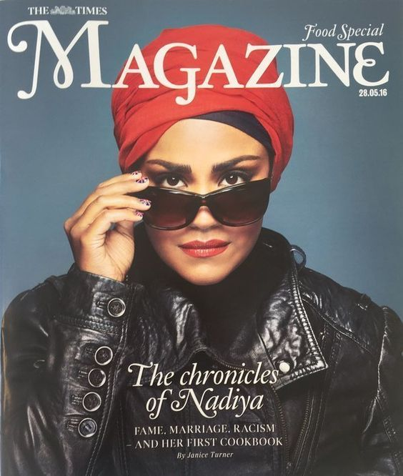 Nadiya Hussain Covers The Times Magazine, And We Are Totally Here For It