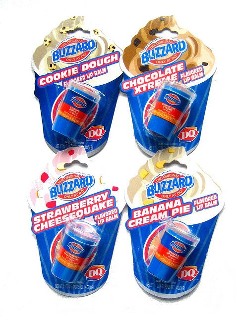 DQ Blizzard Lip Balms by naughty-but-nice. Is this product for real #packaging PD