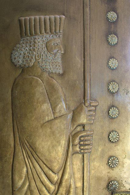 Door to Zoroastrian Fire Temple, Chak Chak, Iran (Photo Rowan Castle)
