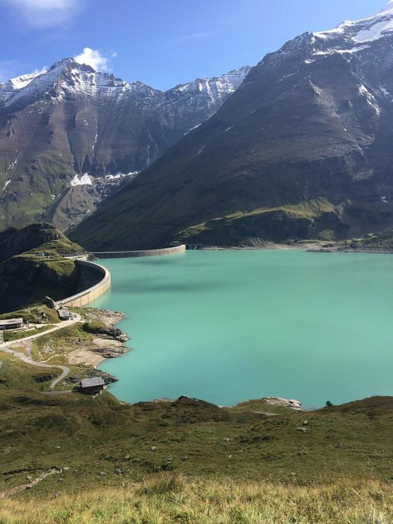 **Hochgebirgsstauseen Kaprun (dam, water reservoir) - Kaprun, Austria