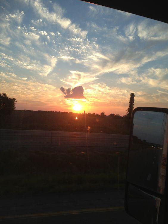 Illinois sunset 1 of 4