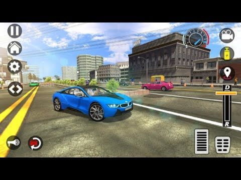 Bmw C220 Driving In City Car Driving School 2017 Android Gameplay Youtube Driving School City Car Truck Games