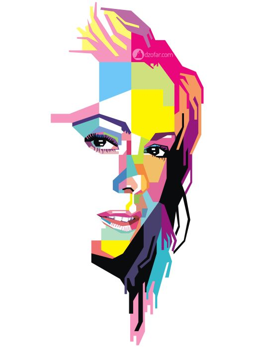 Mariah Carey Pop Art by ndop