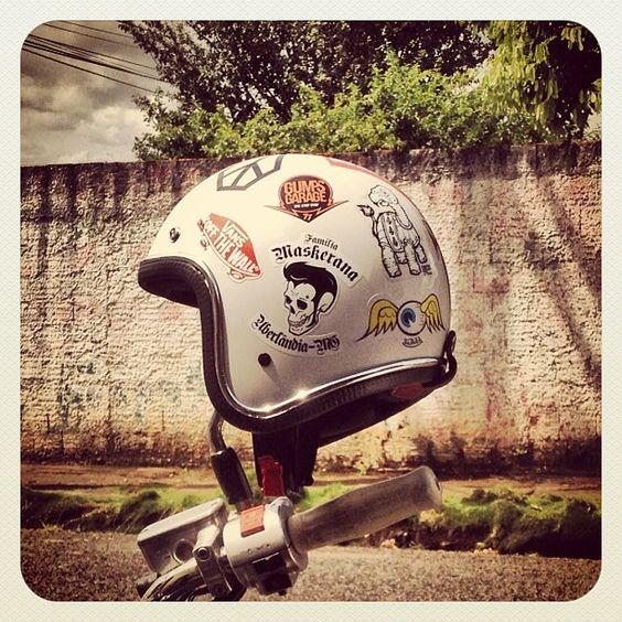 #helmet #openface #custom #motorcycle #familiamaskerana