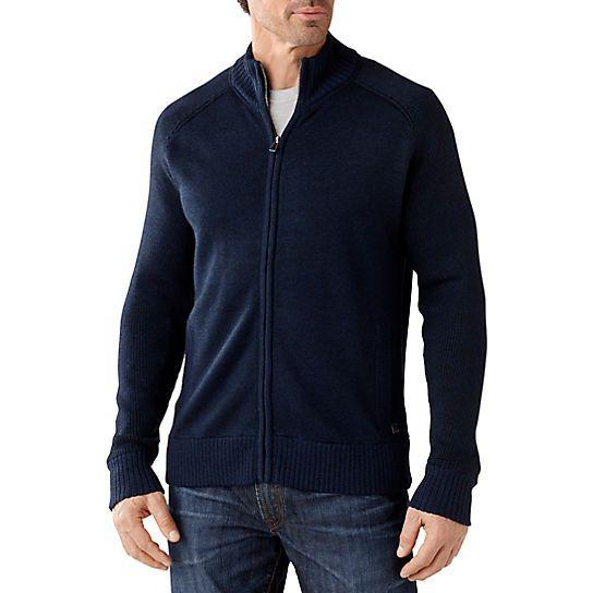 Men's Pioneer Ridge Full Zip Sweater, Size Large, Blue