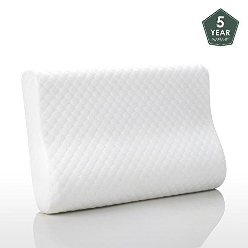 Memory Foam Pillows For Sleeping Contour Neck Support Cooling Gel