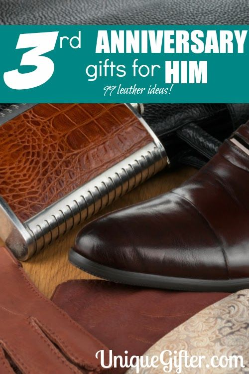Unique 6th Wedding Anniversary Gifts For Him : Leather 3rd Anniversary Gifts for HimUnique Gifter