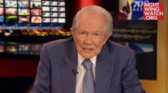 Pat Robertson: Donald Trump Shouldn't Let the Devil Distract Him From Talking About the Economy