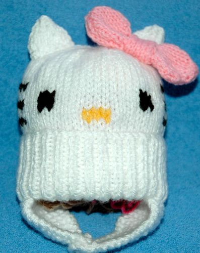 Knitting Pattern For Hello Kitty Hat : Pinterest   The world s catalog of ideas