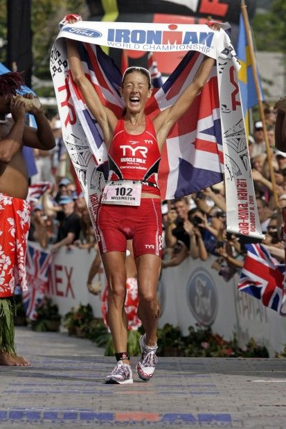 Compulsion, obsession, addiction:  Chrissie Wellington uses all three to describe the forces that have shaped her life as an honor student, bulimic, anorexic, vegetarian, and ultimately a four-time Ironman world champion.