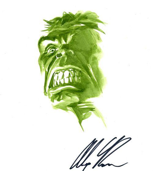 Hulk by Alex Ross.