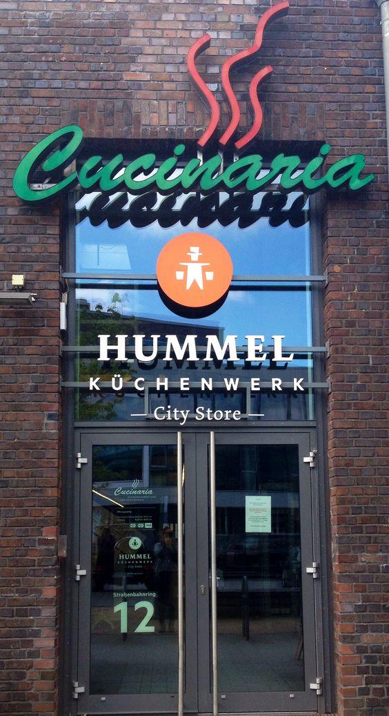 Cucinaria in Hamburg, der Küchen-Himmel...
