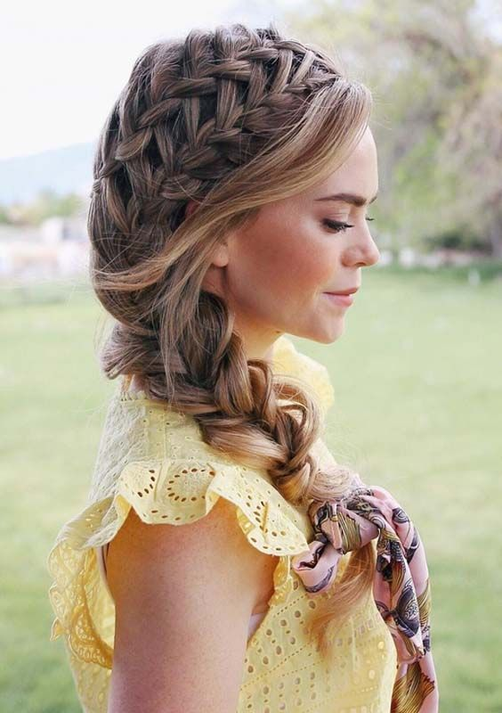 Looking For Top Braid Styles To Wear In These Days See Here We Have Rounded Up A List Of Fantast Braided Hairstyles For Wedding Hair Styles Braided Hairstyles
