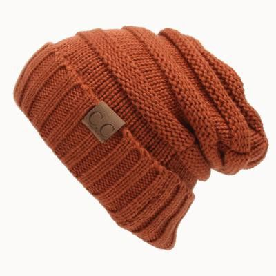 Knitted Slouchy Beanie - More Colors
