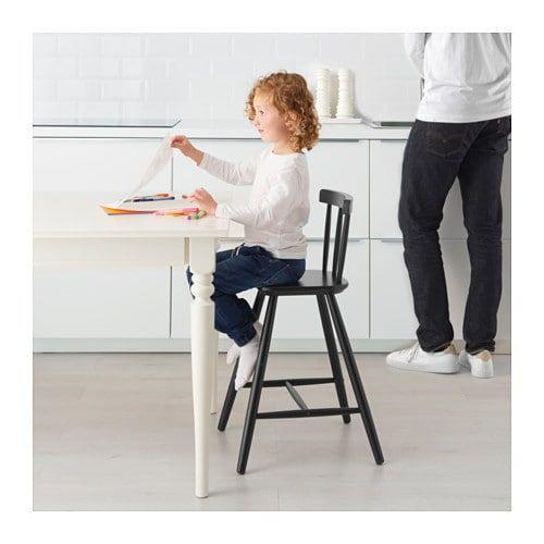 Agam Junior Chair Black Ikea Chaise Ikea Chaise Junior Chaise Cuisine