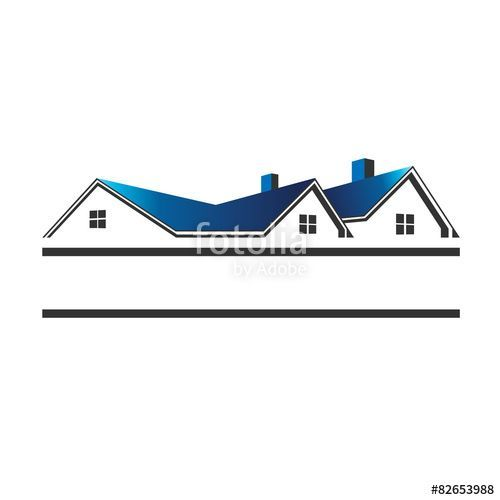Houses Roofs For Real Estate Logo Estate House Real Home Architecture Building Business Property Co Real Estate Logo House Roof Real Estate Houses