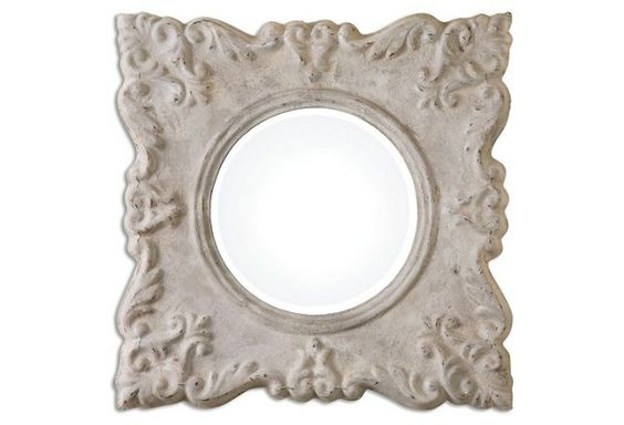 Schoharie Wall Mirror, Gray