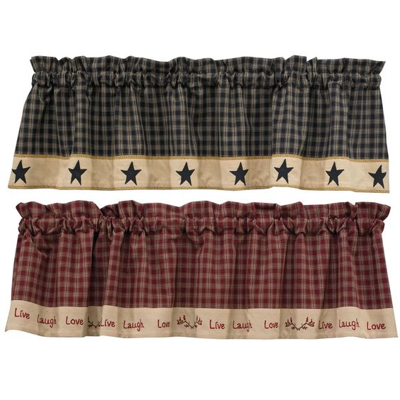 Sturbridge Country Valance #ParkDesigns #Country