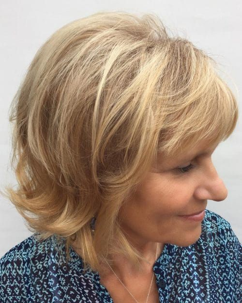 Angled Bob With Round Layers hairstyle #hairstyleforwomen