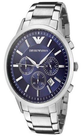 Emporio Armani Herren Armband Chronograph Uhr AR2448