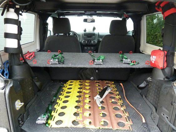 Kawa S Jk Diy Storage Shelf Amp Load Plan Jeep Wrangler
