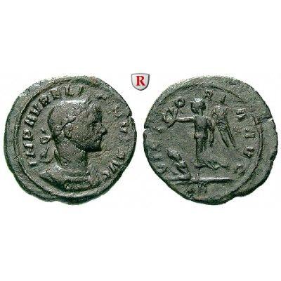 Römische Kaiserzeit, Aurelianus, Denar, ss: Aurelianus 270-275. AE-Denar 20 mm Rom. Gepanzerte Büste r. mit Lorbeerkranz IMP… #coins