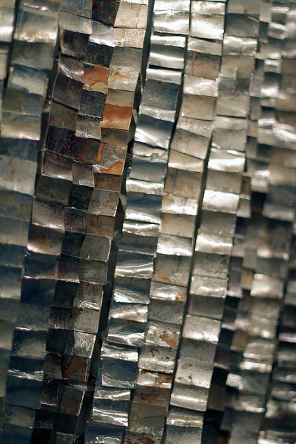 Metal is a resource that is hard solid opaque and shiny for Waste material object